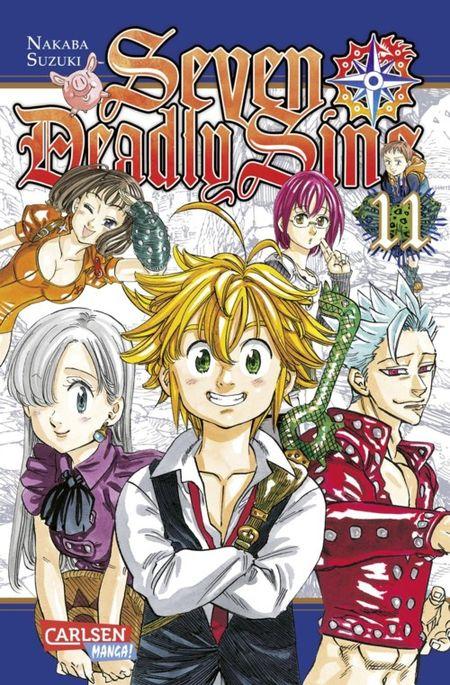 Seven Deadly Sins 11 - Das Cover