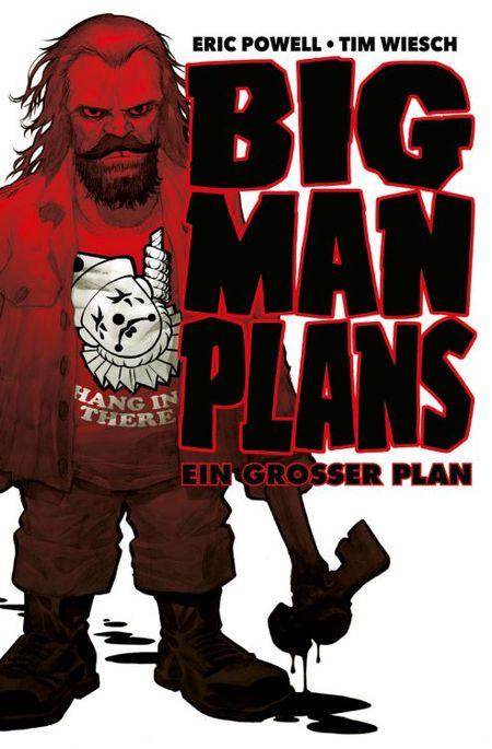 Big Man Plans – Ein großer Plan - Das Cover