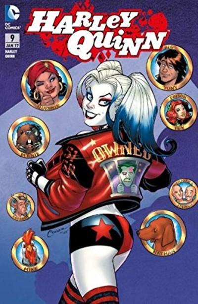 Harley Quinn 9: Mörderische Leidenschaft - Das Cover