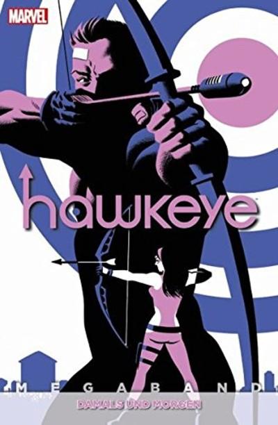 Hawkeye Megaband: 3: Damals und Morgen - Das Cover