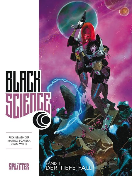Black Science Buch 1: Der tiefe Fall - Das Cover