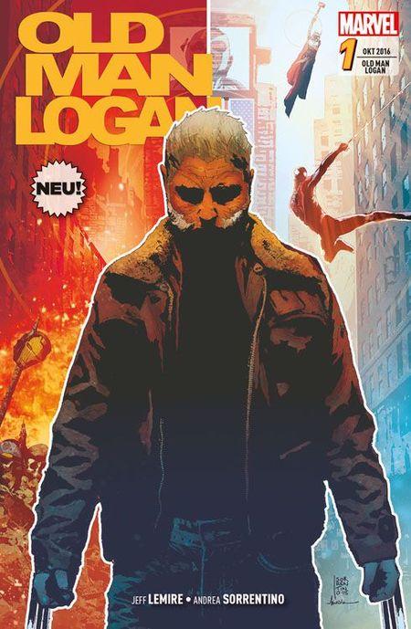 Old Man Logan 1 - Das Cover