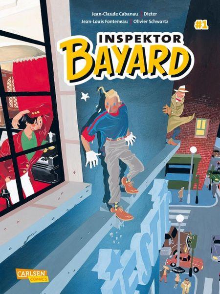 Inspektor Bayard 1: Keine Ferien für den Inspektor - Das Cover