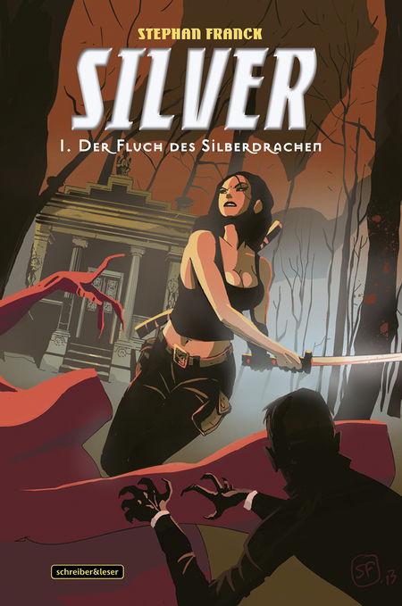 Silver 1: Der Fluch des Silberdrachens - Das Cover