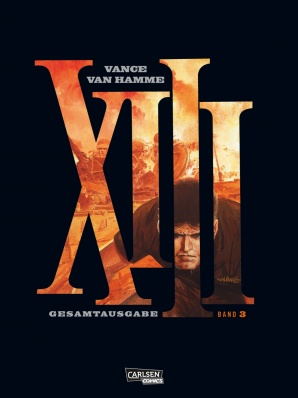 XIII Gesamtausgabe 3 - Das Cover