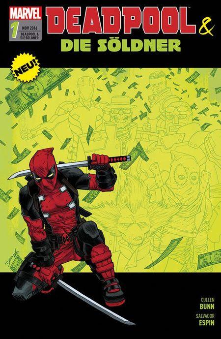 Deadpool und die Söldner - Das Cover