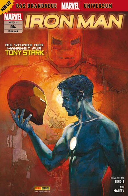 Iron Man 4 - Das Cover