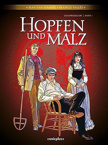 Hopfen und Malz – Gesamtausgabe Band 1 - Das Cover