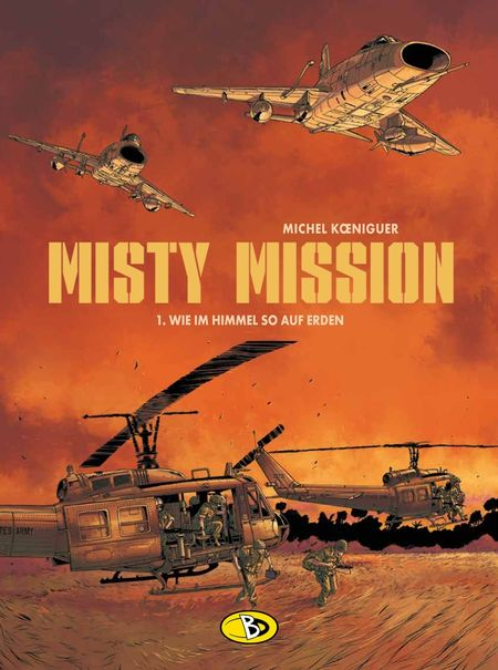 Misty Mission 1 - Das Cover