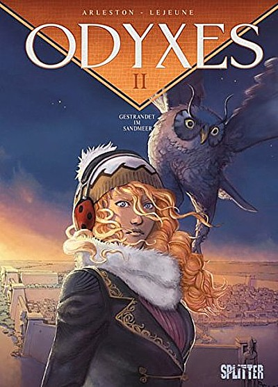 Odyxes 2: Gestrandet im Sandmeer - Das Cover