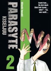 Parasyte - Kiseijuu 2 - Das Cover
