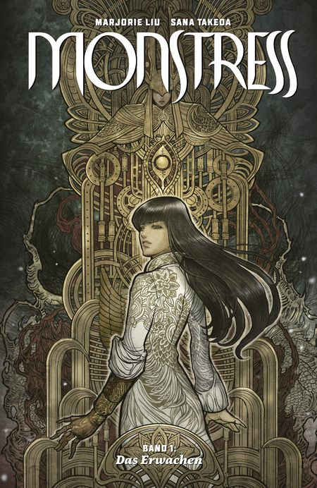 Monstress 1 - Das Cover
