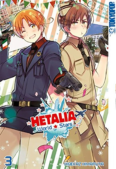 Hetalia World Stars 3 - Das Cover