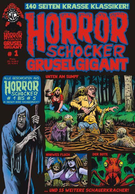 Horrorschocker Grusel Gigant 1 - Das Cover