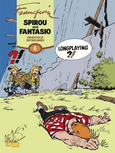 Spirou und Fantasio 6: Unheilvolle Erfindungen - Das Cover