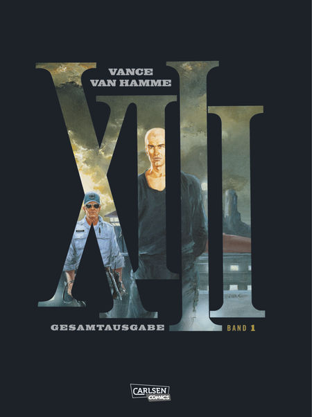 XIII Gesamtausgabe Bd. 1 - Das Cover