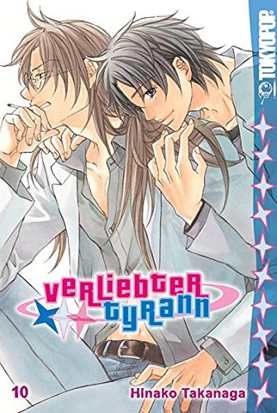 Verliebter Tyrann 10 - Das Cover