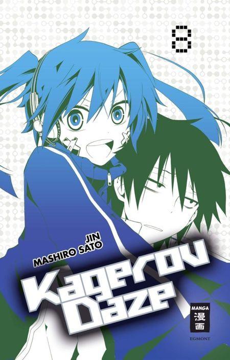 Kagerou Daze 8 - Das Cover