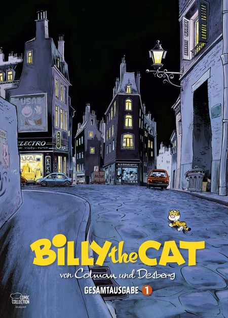 Billy the Cat Gesamtausgabe Bd. 1 - Das Cover