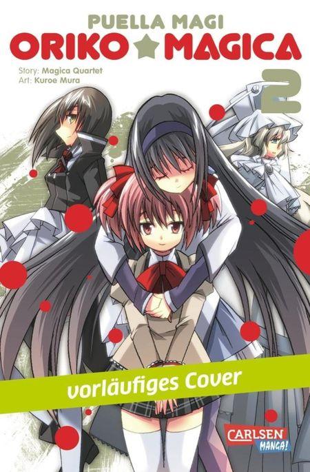 Puella Magi Oriko Magica 2 - Das Cover