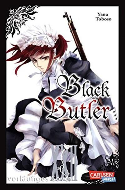Black Butler 22 - Das Cover