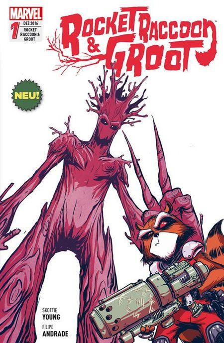 Rocket Racoon & Groot 1 - Das Cover