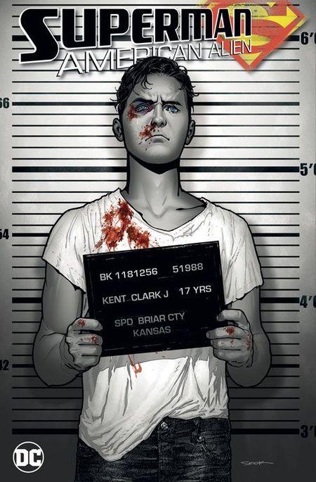 Superman: American Alien - Das Cover