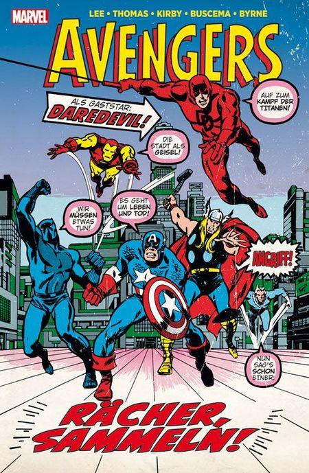 Marvel Klassiker: Avengers 2 - Das Cover