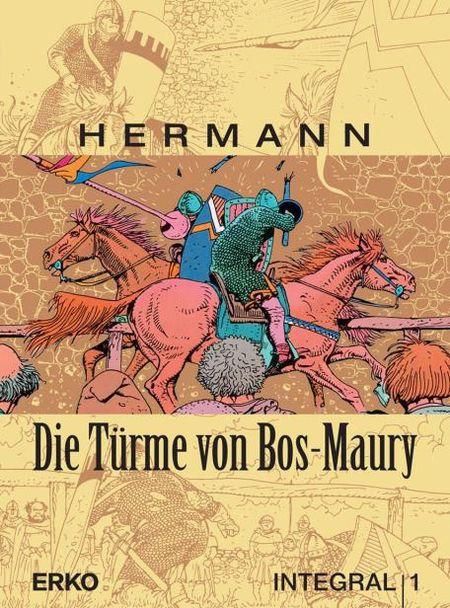 Die Türme von Bos-Maury – Integral 1 - Das Cover