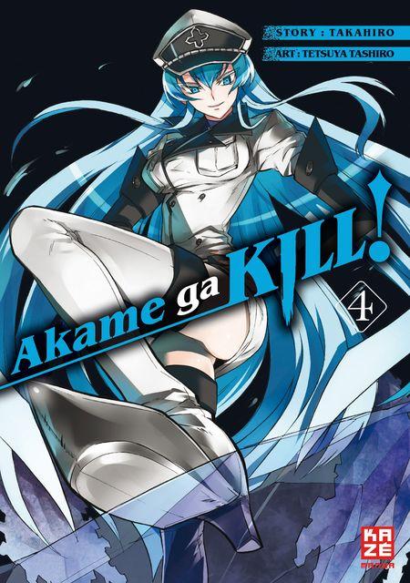 Akame ga KILL! 04 - Das Cover