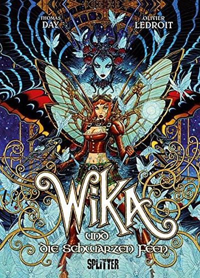 Wika 2:  Wika und die Schwarzen Feen  - Das Cover