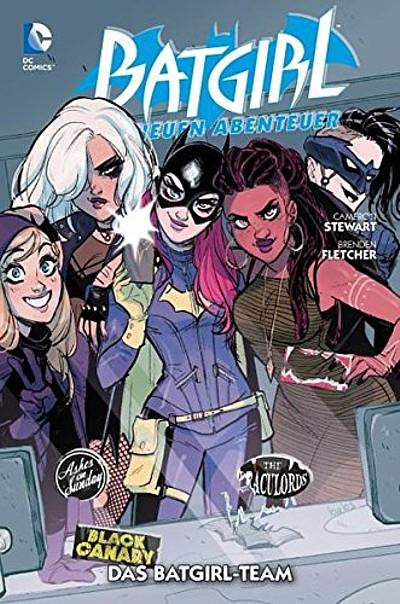 Batgirl - Die neuen Abenteuer 3: Das Batgirl-Team - Das Cover