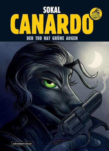Canardo 24: Der Tod hat grüne Augen - Das Cover