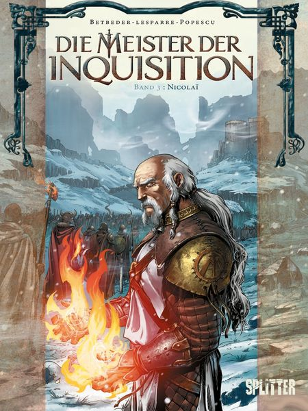 Die Meister der Inquisition 3 - Das Cover