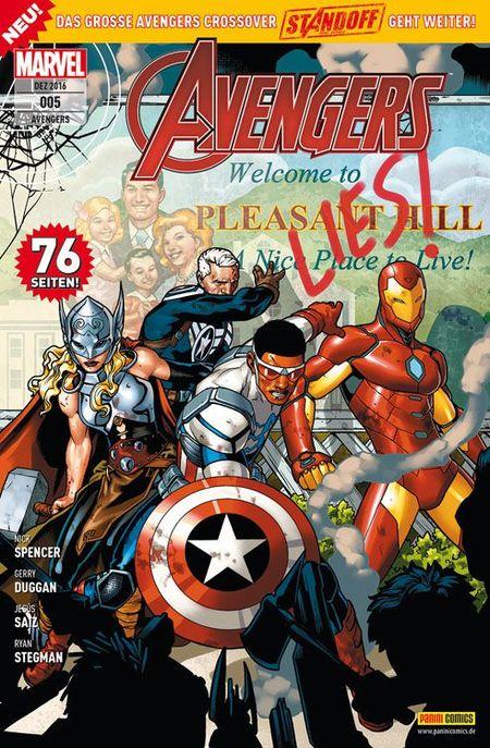Avengers 5 - Das Cover
