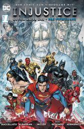 Injustice - Das vierte Jahr 1 - Das Cover