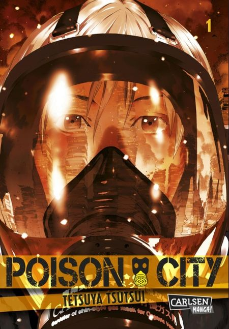 Poison City 1 - Das Cover