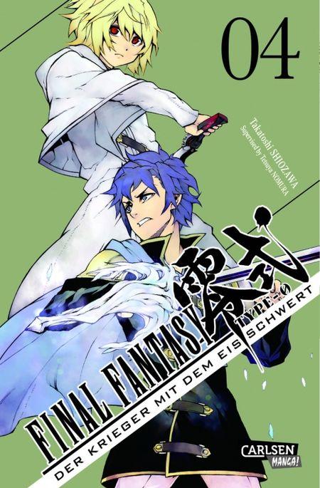 Final Fantasy - Type-0 Band 4: Der Krieger mit dem Eisschwert - Das Cover