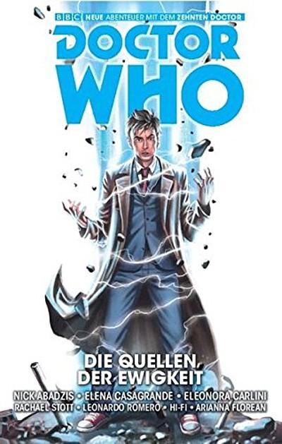 Doctor Who: Der zehnte Doctor 3: Die Quellen der Ewigkeit - Das Cover