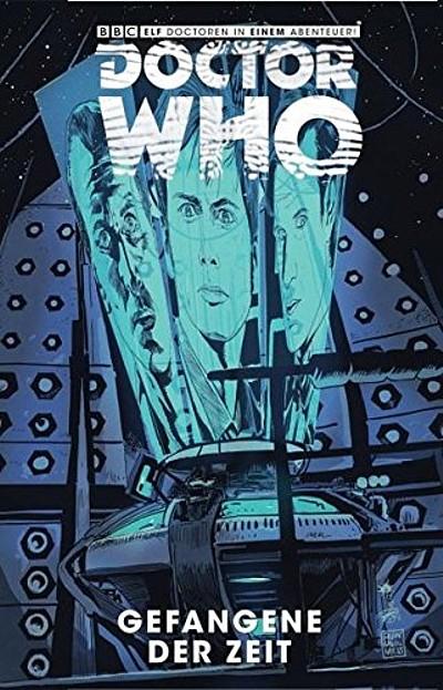Doctor Who: Gefangene der Zeit 2 - Das Cover