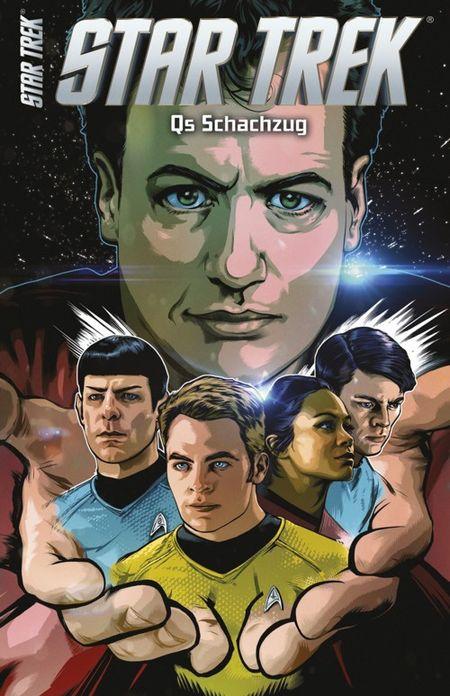 Star Trek Comicband 14: Q's Schachzug - Das Cover
