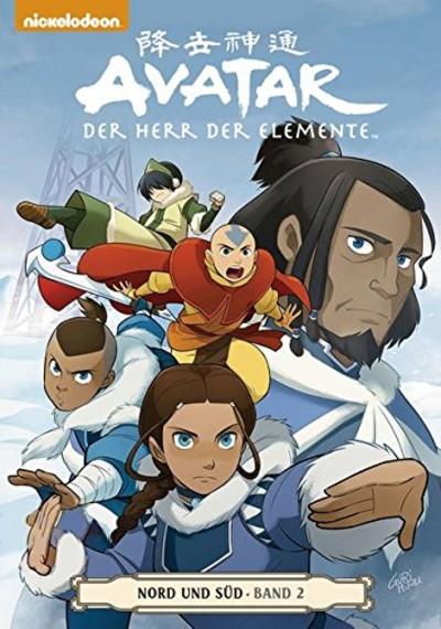 Avatar: Der Herr der Elemente Band 15: Nord und Süd 2 - Das Cover