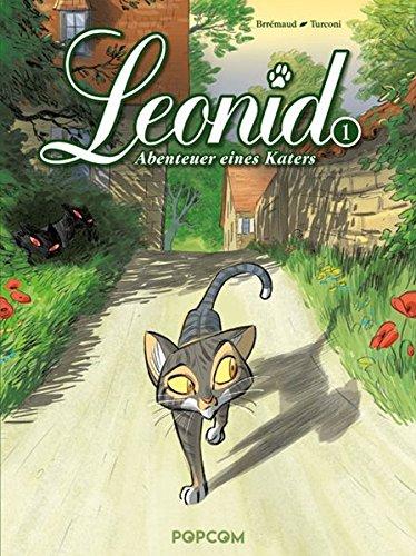 Leonid - Abenteuer eines Katers 01: Die zwei Albinos - Das Cover