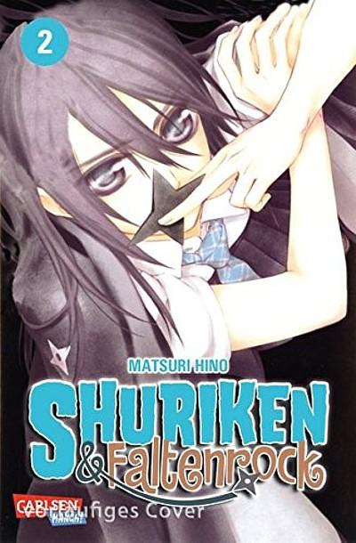 Shuriken und Faltenrock 2 - Das Cover