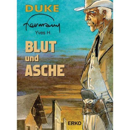 Duke 1 – Blut und Asche - Das Cover