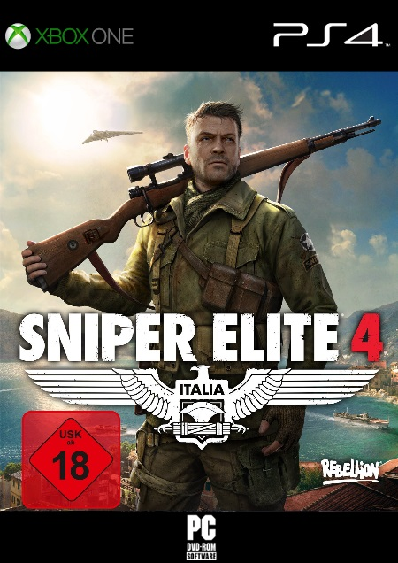 Sniper Elite 4 - Der Packshot