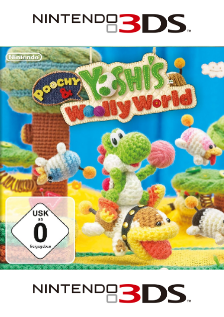 Poochy & Yoshi's Woolly World - Der Packshot