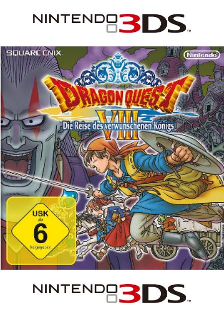 Dragon Quest VIII: Die Reise des verwunschenen Königs - Der Packshot