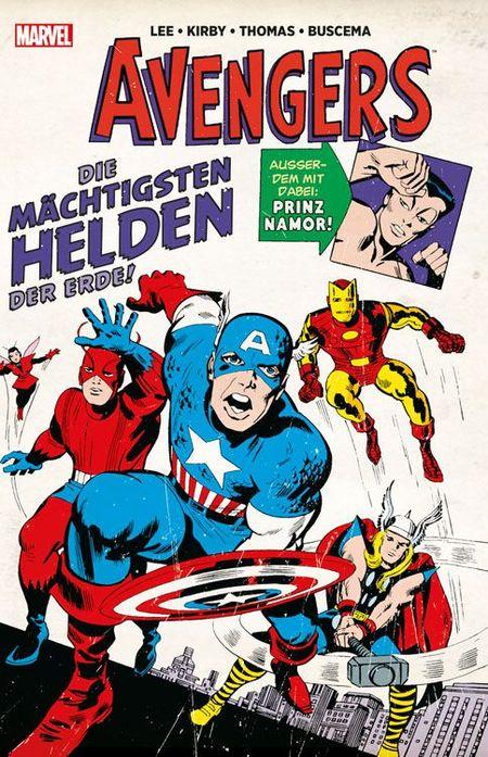 Marvel Klassiker: Avengers - Das Cover