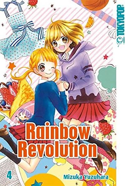 Rainbow Revolution 4 - Das Cover